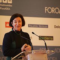 Foro ADEA con Isabel Giménez, directora general de la Fundación de Estudios Bursátiles y Financieros