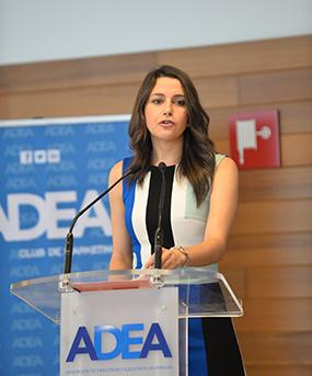 Foro ADEA con Inés Arrimadas