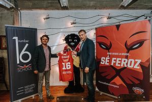 Number 16 school nuevo colaborador oficial de basket - Number 16 zaragoza ...