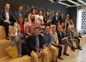 """""""Líderes para el futuro"""" visitan IKEA"""