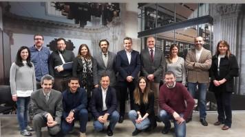 """Los participantes de """"Líderes para el futuro"""" visitan Inditex"""