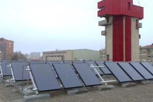 Dolmen y Endef consiguen la primera instalación solar híbrida en un edificio público en España
